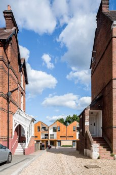 Geraghty-Taylor-Architects-LivinHOME-Woodview-Mews-view-through-Edwardian-villas